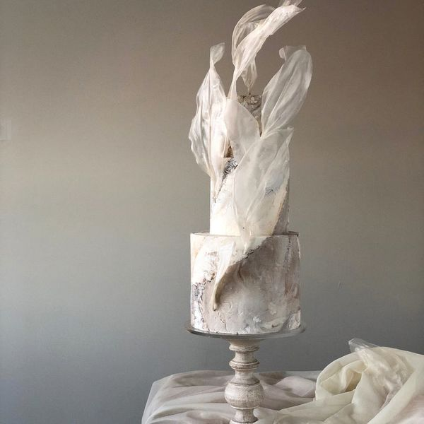 This Baker's Sculptural Wedding Cakes Defy The Laws Of Physics In The Prettiest Way
