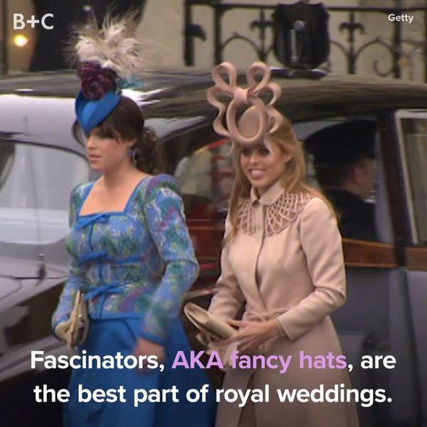 The Best Fascinators (AKA Fancy Hats) At the Royal Wedding