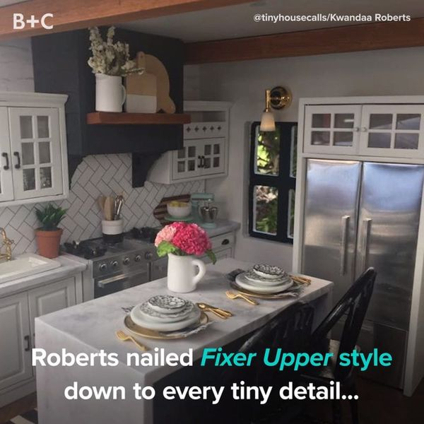 This Dollhouse Inspired By 'Fixer Upper' Is to Die For