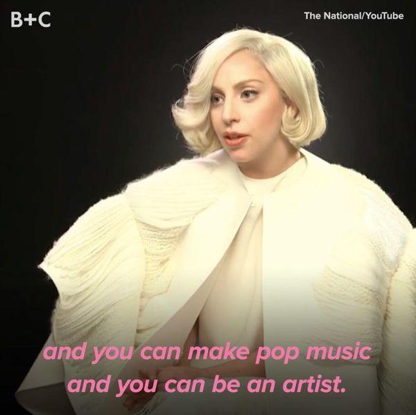 Proof That Lady Gaga Is Full of Life Wisdom