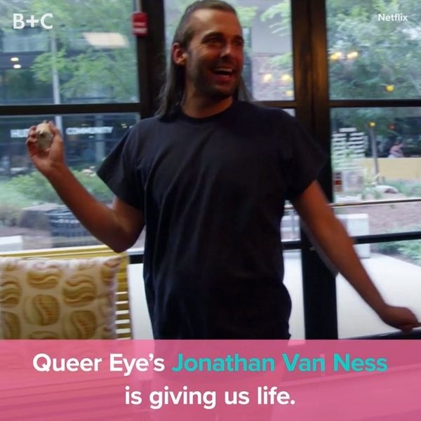 Jonathan Van Ness From 'Queer Eye' Is Giving Us Life