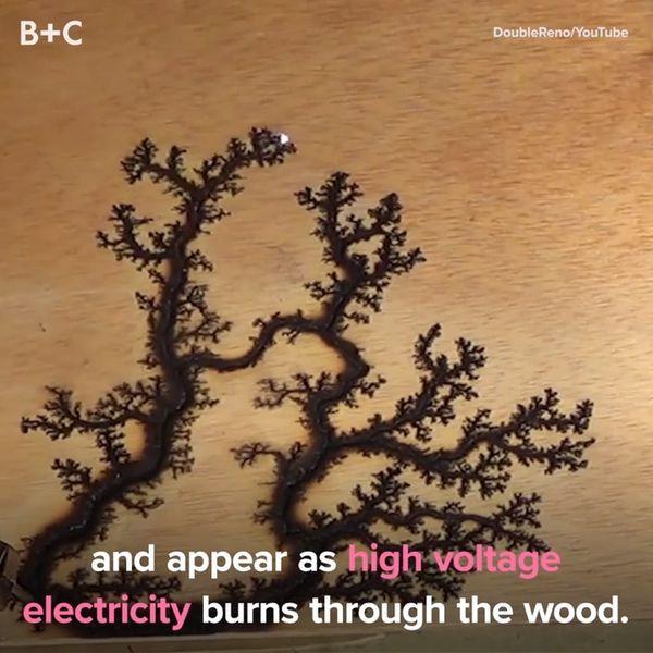 Proof That Fractal Wood Burning Is LIT