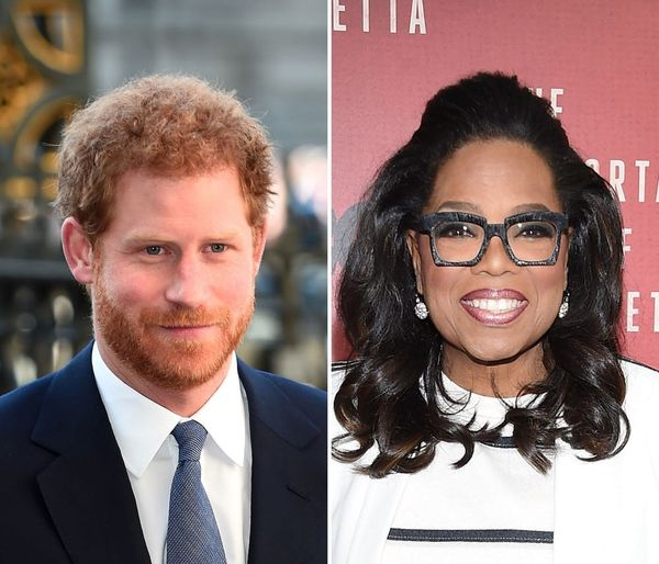 Prince Harry and Oprah Winfrey Are Teaming Up for a New Series on Apple TV+