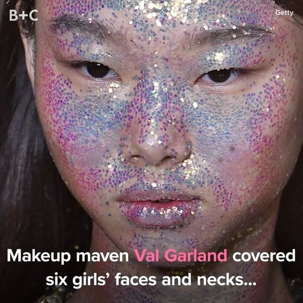 This Glitter Face Mask Is the Most Extra Thing We've Ever Seen
