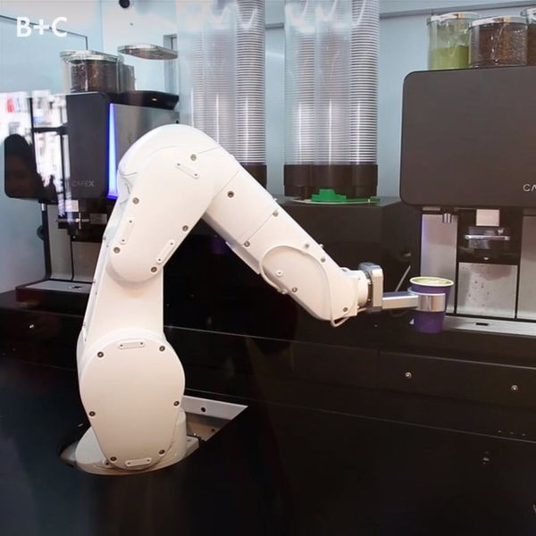 This Cafe Uses Robots to Serve Coffee