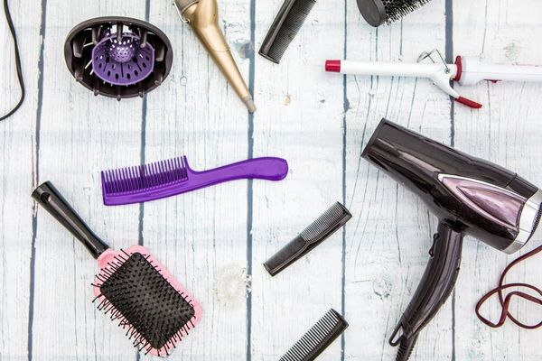 How to Clean Your Hair Brushes, Dryer, and More, According to a Celebrity Stylist