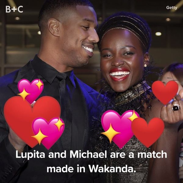 Proof That Lupita Nyong'o and Michael B. Jordan Have MAJOR Chemistry