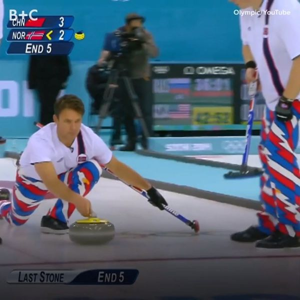 Norway's Curling Team Has the Most EPIC Uniforms