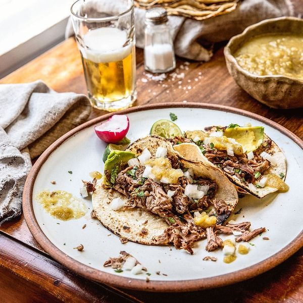 You Won't Regret a Single Bite of These Mini Slow-Cooker Lamb Tacos