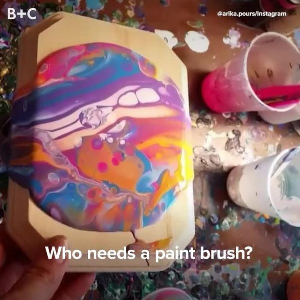 Fluid Painting Is Our New Obsession