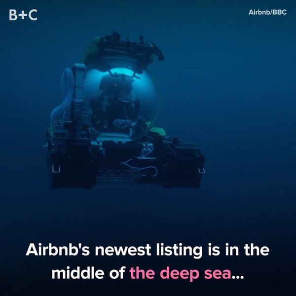 Airbnb's New Listing Is in the Middle of the Sea