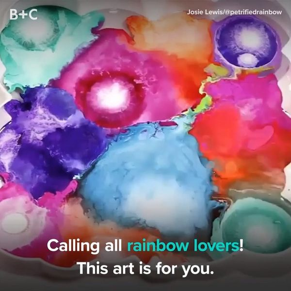 This Rainbow Art Is Going to Blow Your Mind