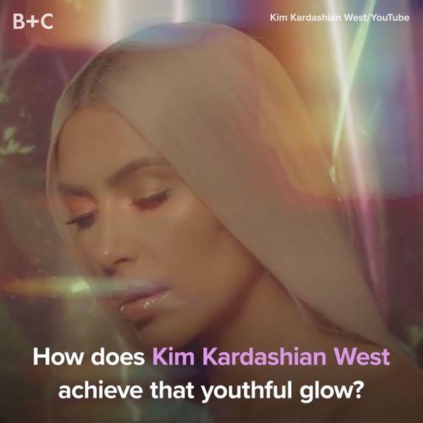 Here's How Kim Kardashian West Achieves Her Youthful Glow