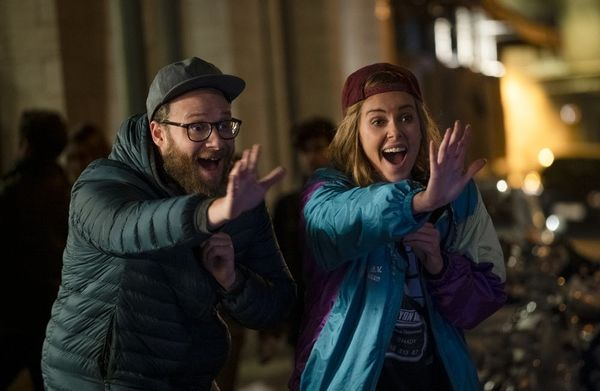 Charlize Theron and Seth Rogen Are Pretty Cute Together in the New 'Long Shot' Teaser and Poster Art