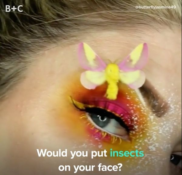 This Insect Makeup Is Beautiful AND Creepy