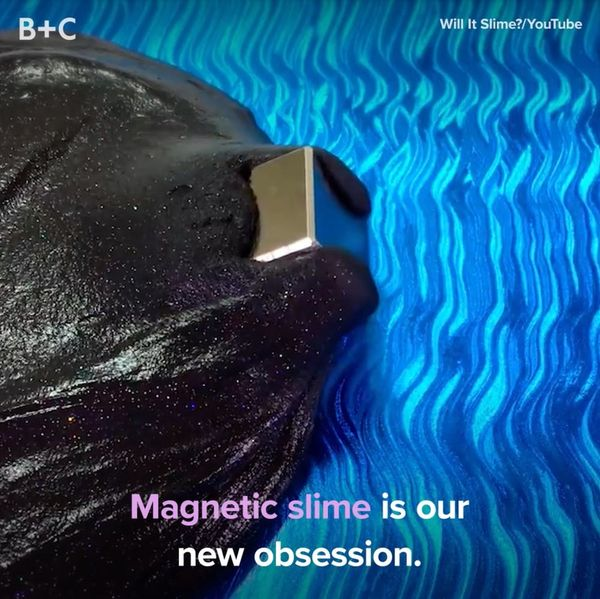 Magnetic Slime Is Our New Obsession