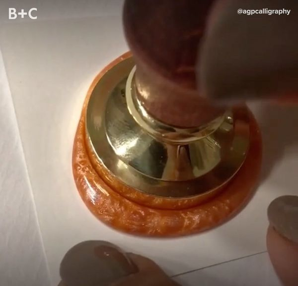 Proof That Wax Seals Are Mesmerizing AF