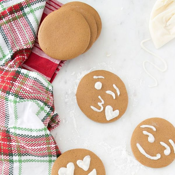This Gingerbread Emoji Cookies Recipe Will Make You :heart_eyes: