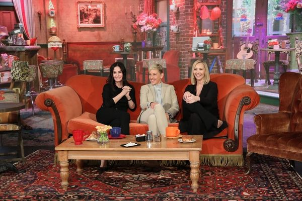 Courteney Cox and Lisa Kudrow Had a Mini 'Friends' Reunion on 'Ellen' and It Was Perfect
