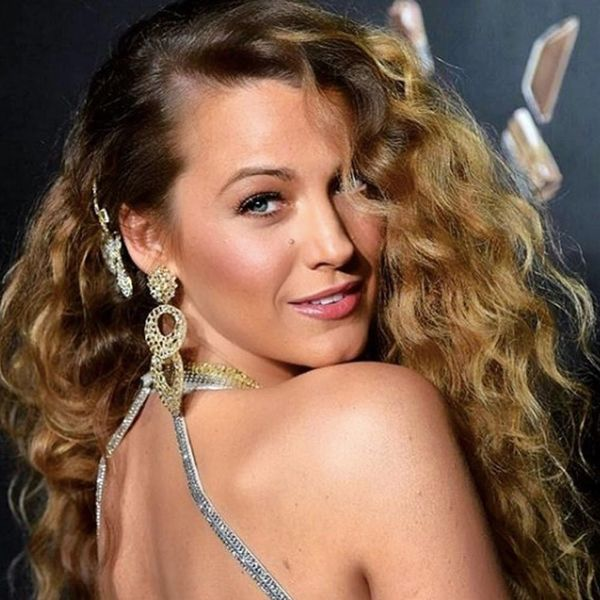 Blake Lively and Kim Kardashian West Prove '80s Hair Is Back With Crimped Waves