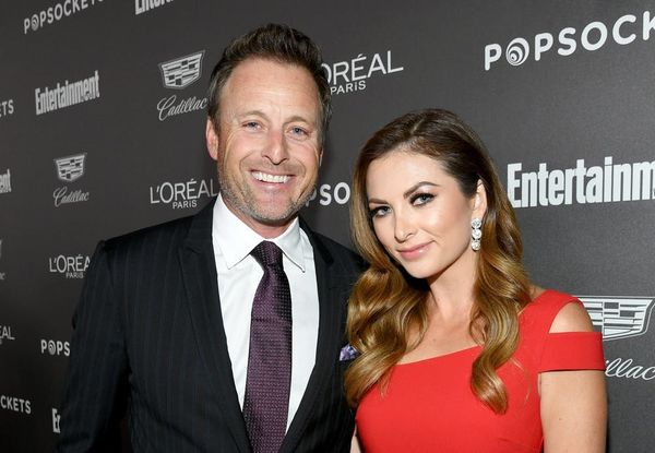 'Bachelor' Host Chris Harrison and 'ET' Correspondent Lauren Zima Are Red-Carpet Official