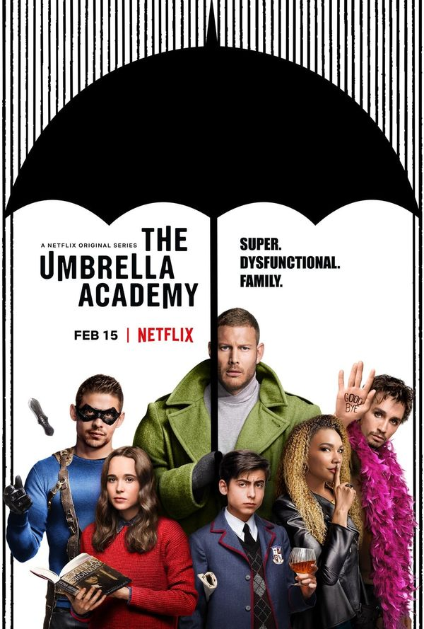 The First Trailer for Netflix's 'The Umbrella Academy' Is Full of Dysfunctional Superhero Fun