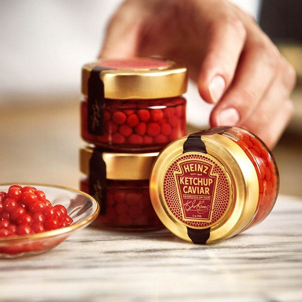 Ketchup Caviar Will Make Any Valentine's Day Feast Fancy AF