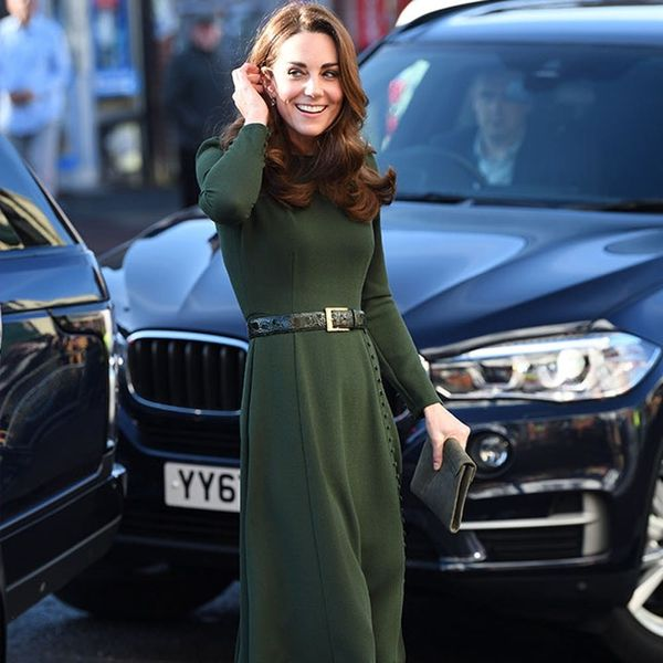 Kate Middleton's Belted Green Dress Has a Secret Meaning
