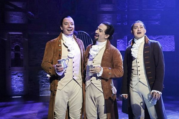 Jimmy Fallon Joined Lin-Manuel Miranda for a Special 'Hamilton' Performance in Puerto Rico