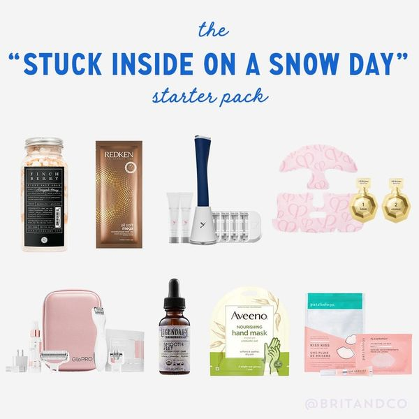 The 'Stuck Inside on a Snow Day' Starter Pack