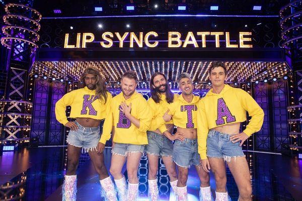 See Queer Eye's Jonathan Van Ness and Karamo Brown Channel Lady Gaga and Beyoncé on 'Lip Sync Battle'