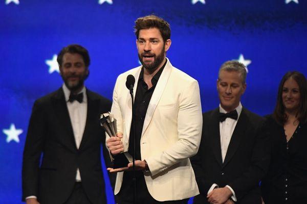 John Krasinski's Critics' Choice Awards Shout-Out to Emily Blunt Will Melt Your Heart