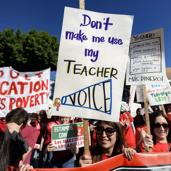 Underpaid, Overworked, and Uncertain of the Future, America's Public School Teachers Are Fighting Back