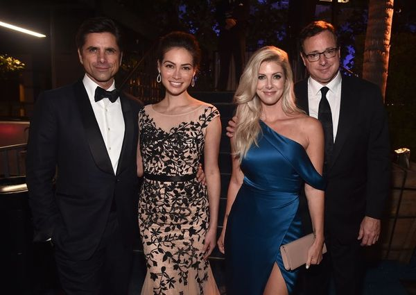 'Fuller House' Costars John Stamos and Bob Saget Went on a Double Date With Their Wives