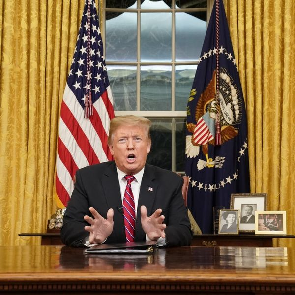 The Most Outrageous False Claims in President Trump's Oval Office Address