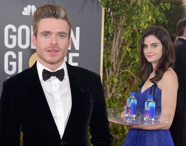 Fiji Water Girl Reveals Her Favorite Accidental Red Carpet Photobomb from the 2019 Golden Globes