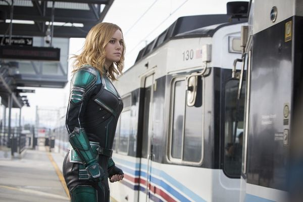 Brie Larson's Captain Marvel Shows Off Her Impressive Superpowers in a New Trailer