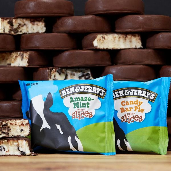 We're Ready to Break New Years Resolutions for Ben & Jerry's Latest Pint Slices