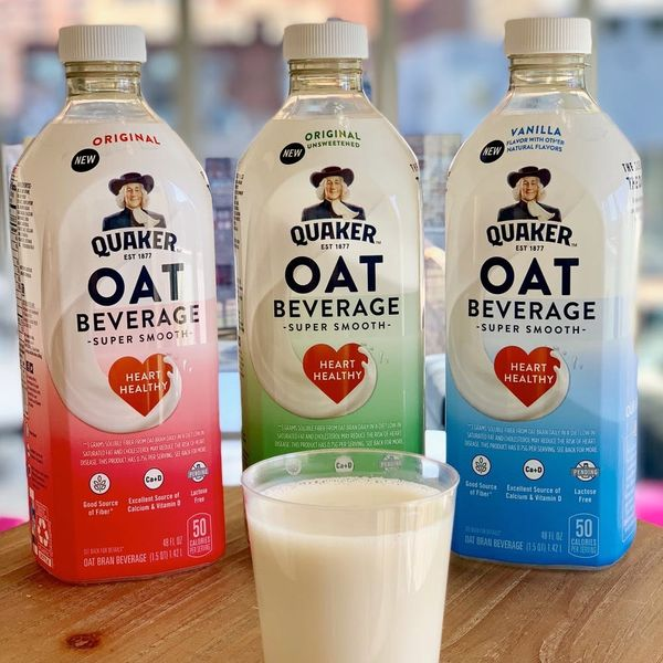 Quaker Is Finally Making Oat Milk, and It's Dang Delicious