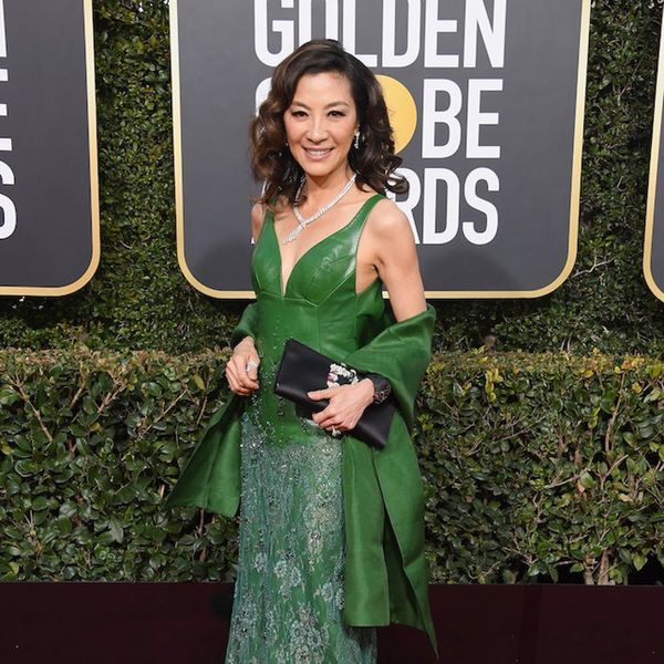 Michelle Yeoh Rocked THAT 'Crazy Rich Asians' Ring on the 2019 Golden Globes Red Carpet