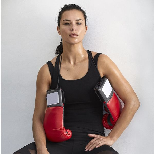 These Are Adriana Lima's Favorite Fitness Essentials
