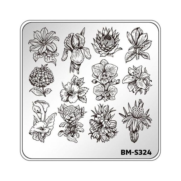 Reusable Stamping Plates Are the Secret Behind Those Unbelievably Intricate Nail Art Designs