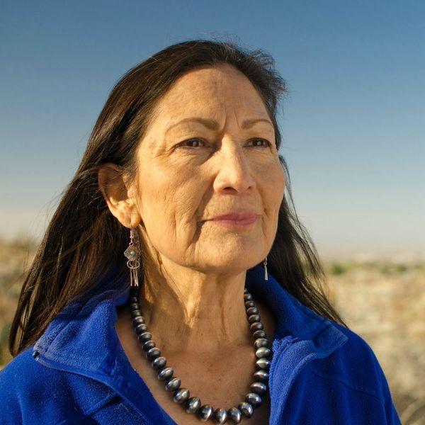 Deb Haaland Wore Traditional Pueblo Regalia to Be Sworn into Congress