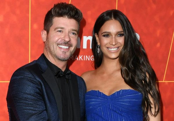 Robin Thicke and April Love Geary Are Engaged!
