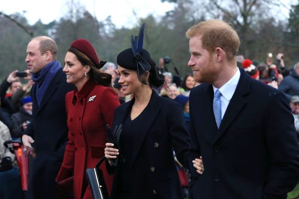 Prince Harry and Meghan Markle Join the Royal Family for Their First Christmas as Husband and Wife