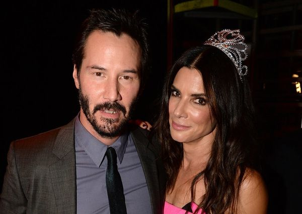 Sandra Bullock May Have Had a Little Crush on Keanu Reeves During 'Speed'