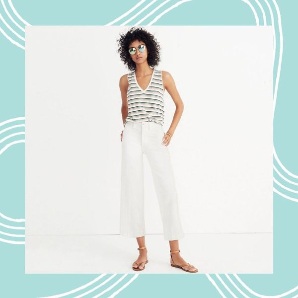 16 *Extra* Special White Denim Styles for Summer