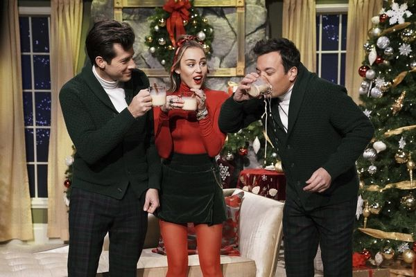 Miley Cyrus Put an Empowering, Feminist Spin on 'Santa Baby' and We're Here for It