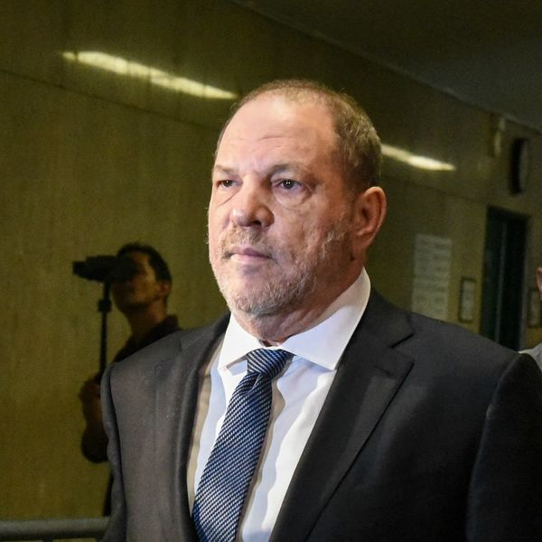 Surrounded by Time's Up Activists, New York Judge Declined to Dismiss Charges Against Harvey Weinstein