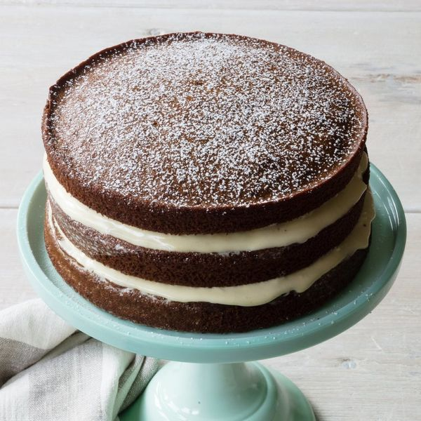 Make This Lemony Gingerbread Layer Cake For Everyone on Your Nice List